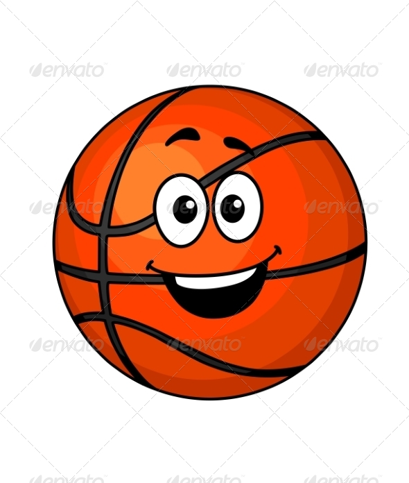 Cartoon BasketBall - Sports/Activity Conceptual