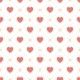 Vector Seamless Retro Pattern with Hearts - GraphicRiver Item for Sale