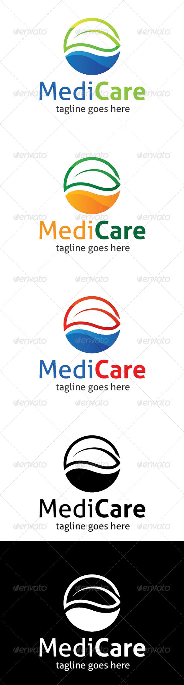 MediCare Logo - Nature Logo Templates