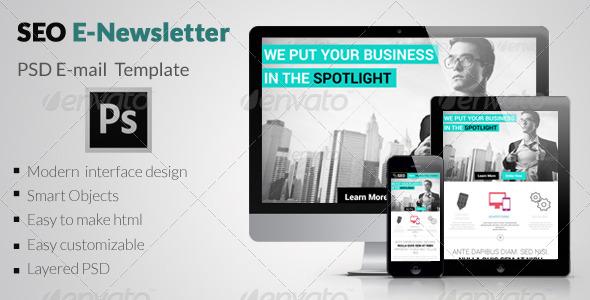 SEO E-Newsletter - E-newsletters Web Elements