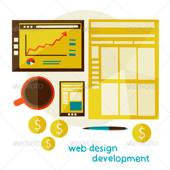 Web Design Development - Concepts Business