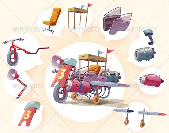 Strange Vehicle - Retro Technology