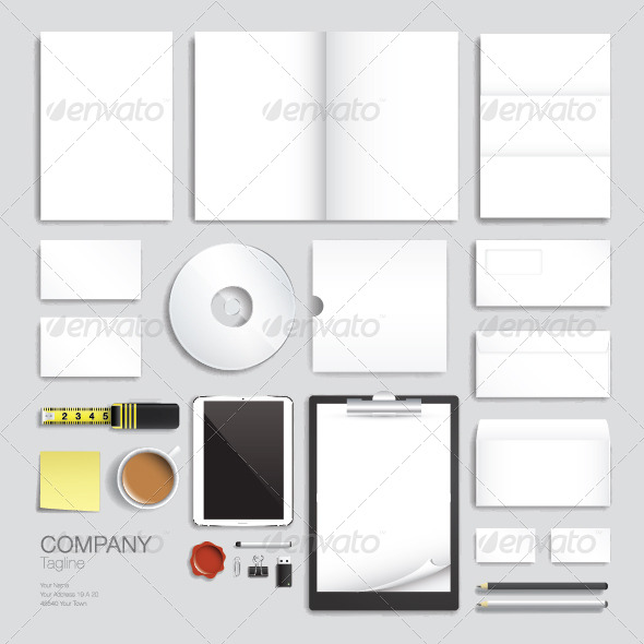 Corporate Brand Identity Vector Template Design - Concepts Business