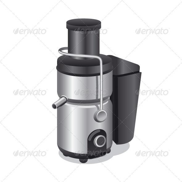 Modern Juicer - Vectors