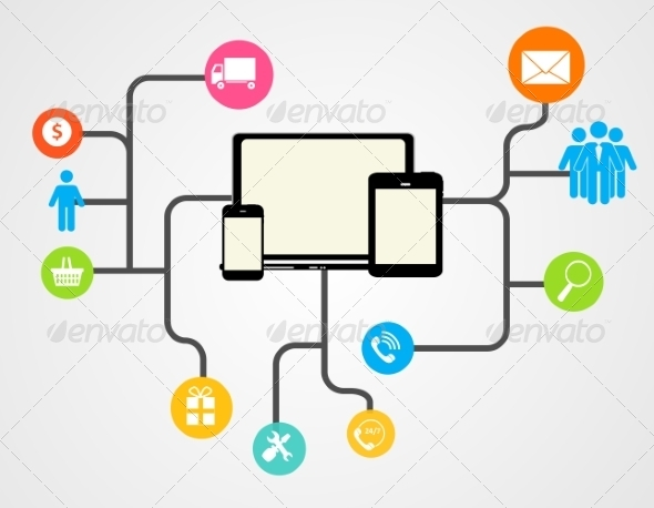 Cloud Computing Concept on Different Electronic De - Web Technology