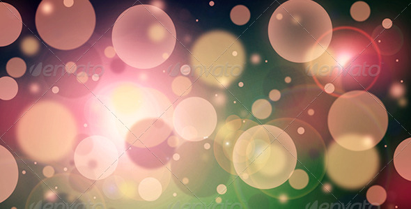 Bokeh Lights Background - Abstract Backgrounds