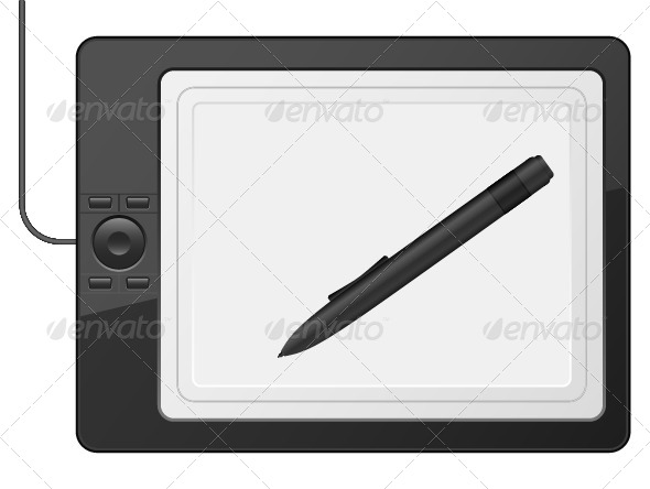 Graphic Tablet - Technology Conceptual