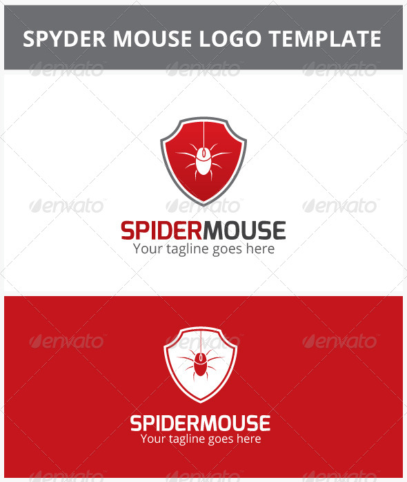 Spider Mouse Logo - Objects Logo Templates