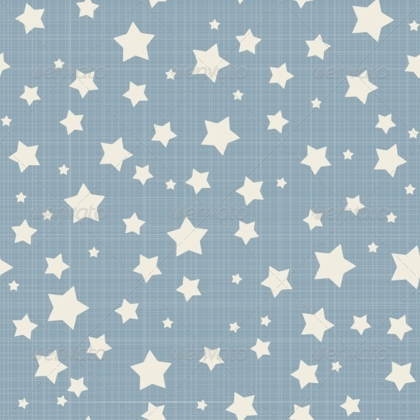 Seamless Stars Pattern - Patterns Decorative
