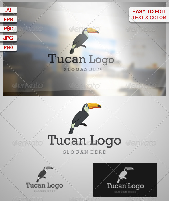 Tucan Logo - Animals Logo Templates