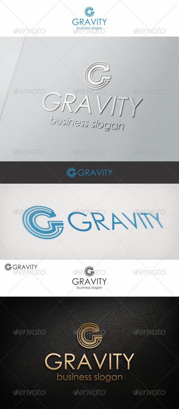 G Logo Letter - Gravity - Letters Logo Templates