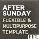 After Sunday Template - Flexible and Multipurpose - ThemeForest Item for Sale