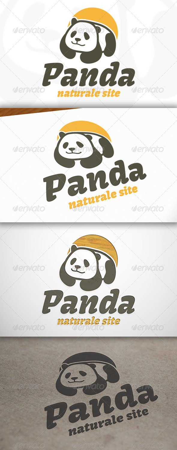 Panda Logo - Animals Logo Templates