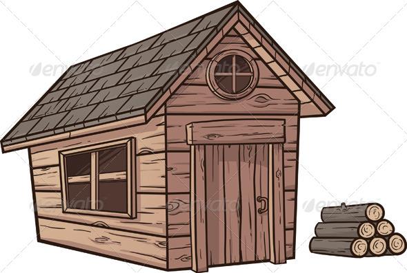 Wooden Cabin - Buildings Objects