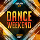 Dance Weekend Flyer Template - GraphicRiver Item for Sale