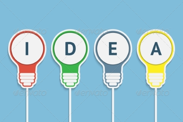 Bulb Idea - Concepts Business