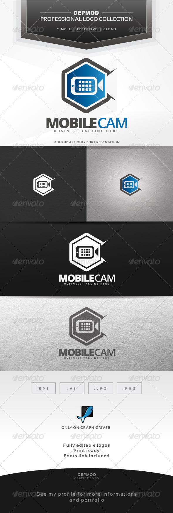 Mobile Cam Logo - Symbols Logo Templates