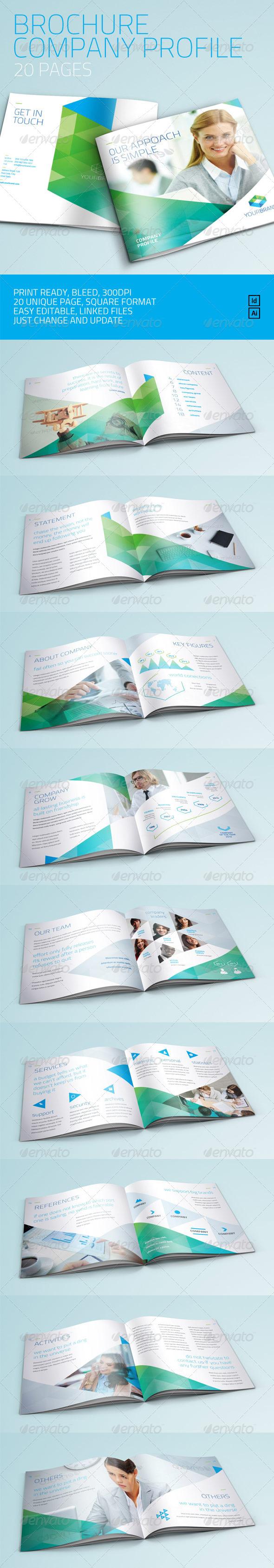 Brochure - Company Profile/Multi Purpose - Corporate Brochures