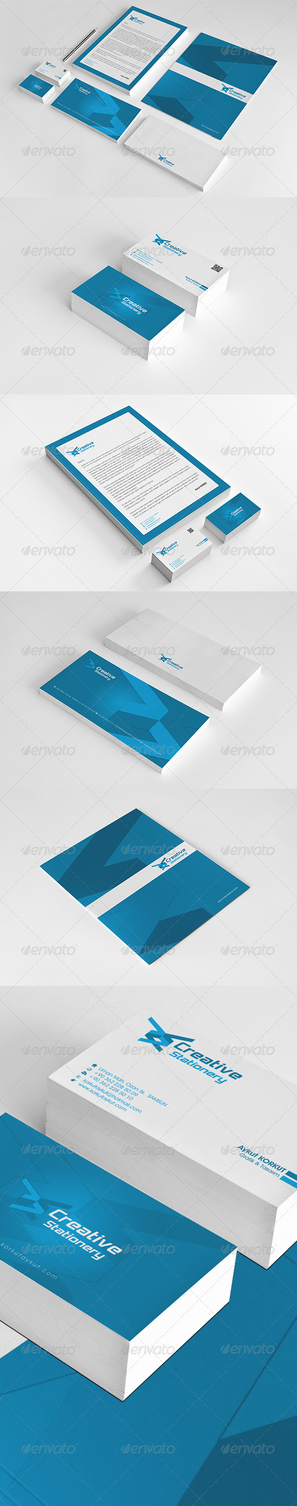 Creative Corporate Identity Package  - Stationery Print Templates