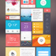 Flat UI Kit for Responsive Web Design - GraphicRiver Item for Sale