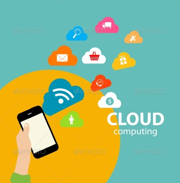 Cloud Computing Concept on Different Electronics - Web Technology