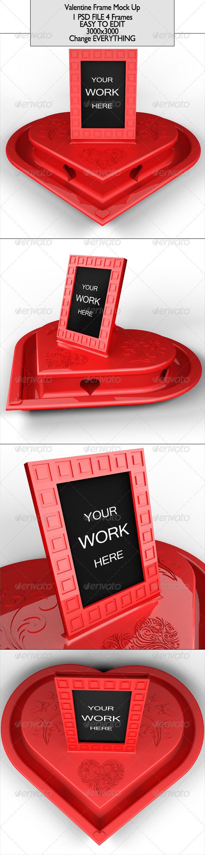 Valentine Frame Mock Up