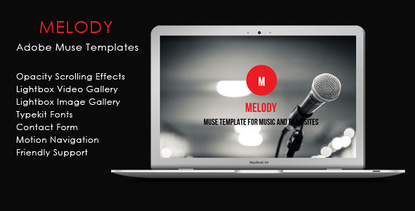 Melody – Music And Band Theme