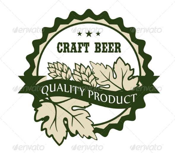 Craft Beer Design Label - Retail Commercial / Shopping