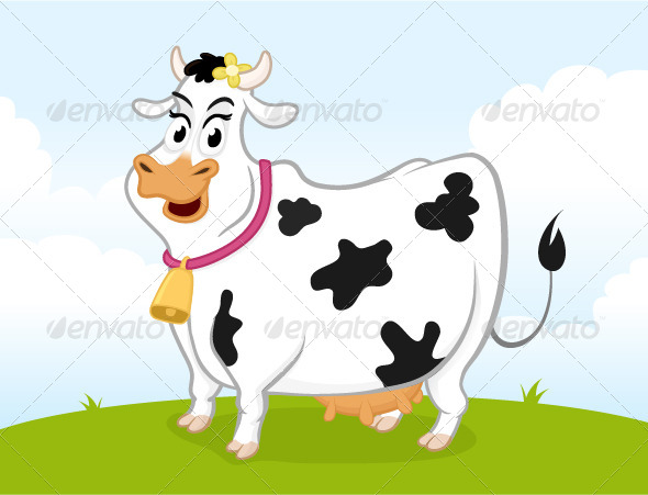 Dairy Cow - Animals Characters
