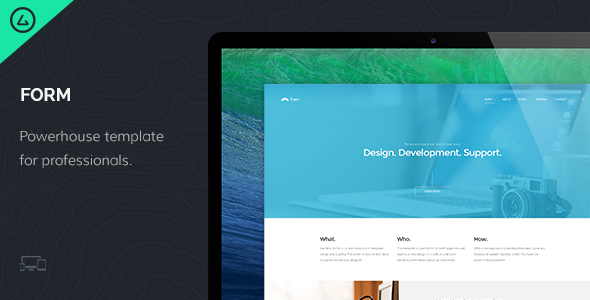 Form – Responsive HTML5 Template