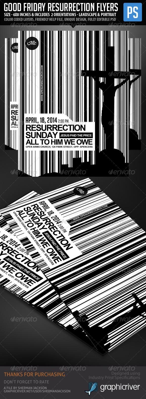 Church/Christian Themed Poster/Flyer Vol.1 - Church Flyers