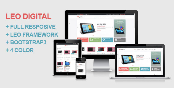 Image of Leo Digital Prestashop Theme