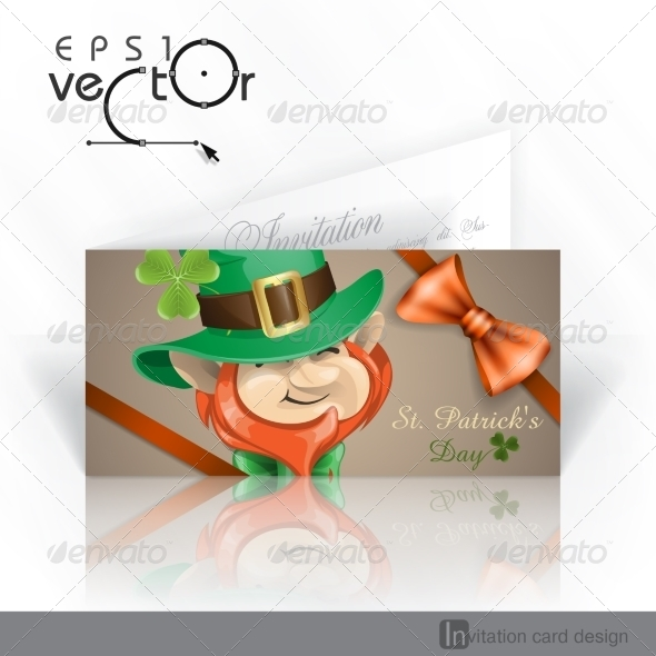St Patrick's Day Leprechaun Face. - Miscellaneous Seasons/Holidays