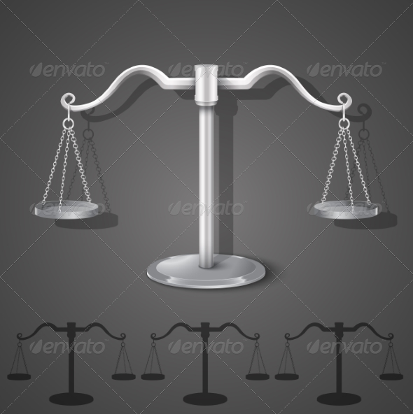 Metal Balance Scales - Concepts Business