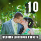 10 PRO  Lightroom Presets Wedding  - GraphicRiver Item for Sale