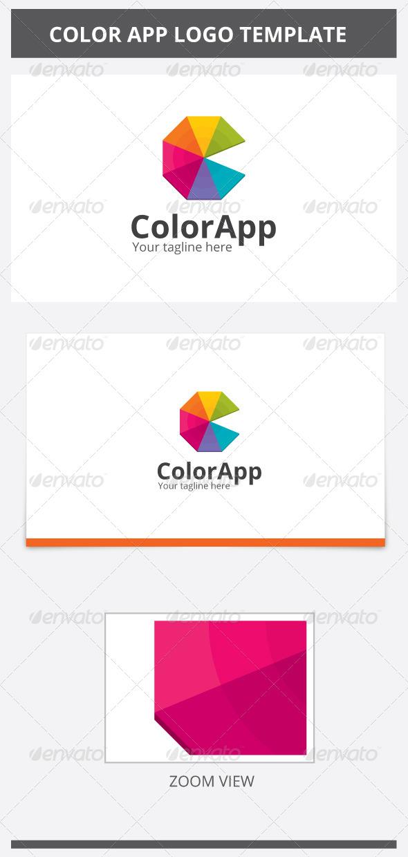 Color App Logo - Abstract Logo Templates