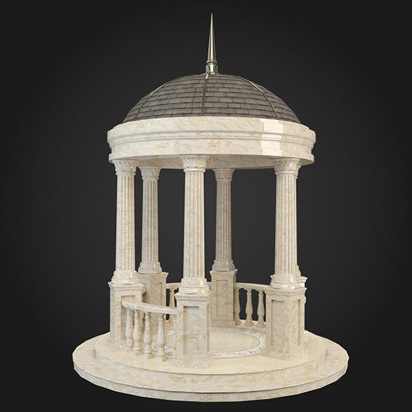 Gazebo 015 - 3DOcean Item for Sale