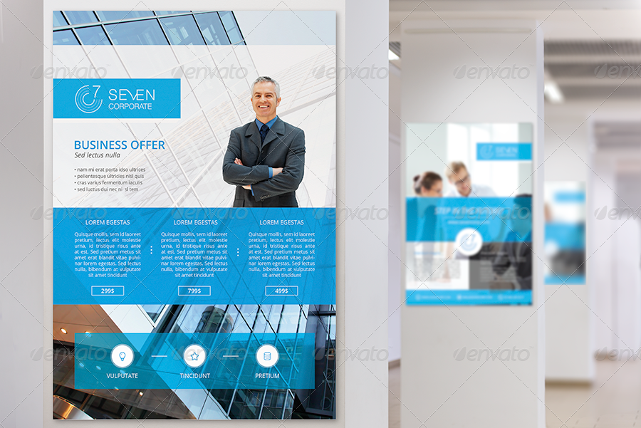 Seven Corporate - Business Flyer