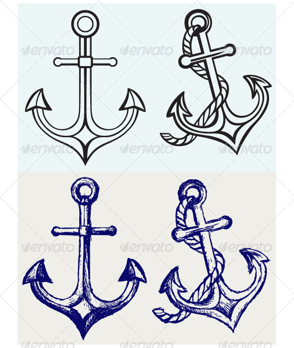 Anchor Icon - Decorative Symbols Decorative