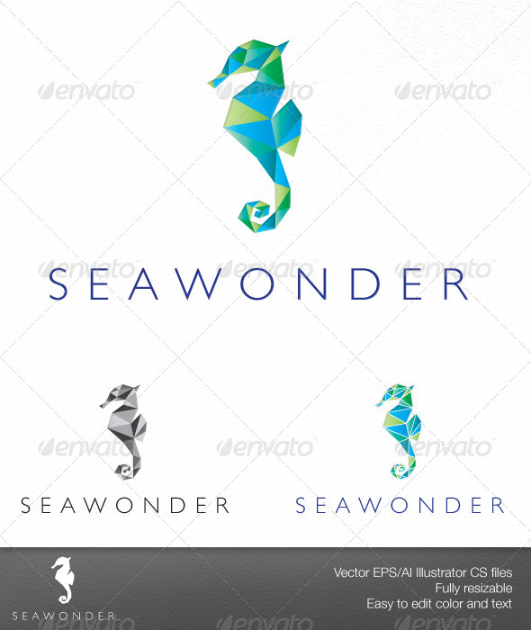 SeaWonder - Animals Logo Templates