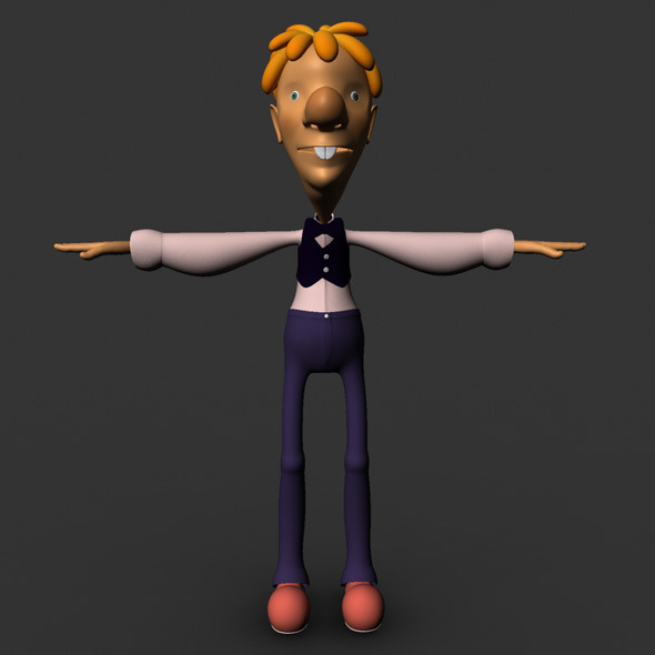 Cartoon Character Model