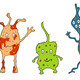 Illustration of different germs - PhotoDune Item for Sale