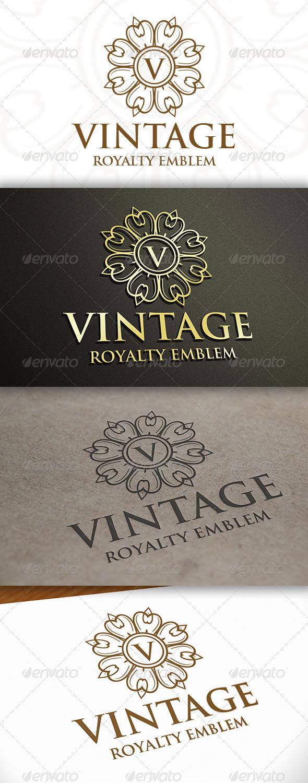 Vintage Logo - Crests Logo Templates