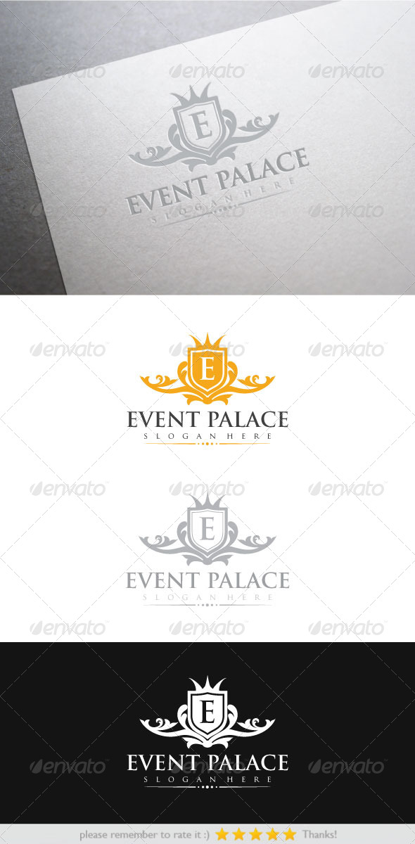 Event Palace - Crests Logo Templates