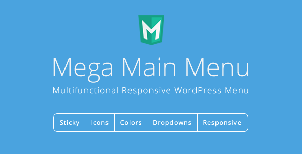 Mega Main Menu - WordPress Menu Plugin - CodeCanyon Item for Sale