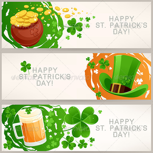 Greeting Banners to St. Patrick's Day - Miscellaneous Seasons/Holidays