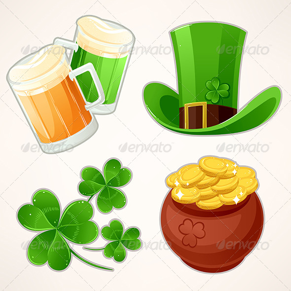 Icons to St. Patrick's Day - Miscellaneous Seasons/Holidays