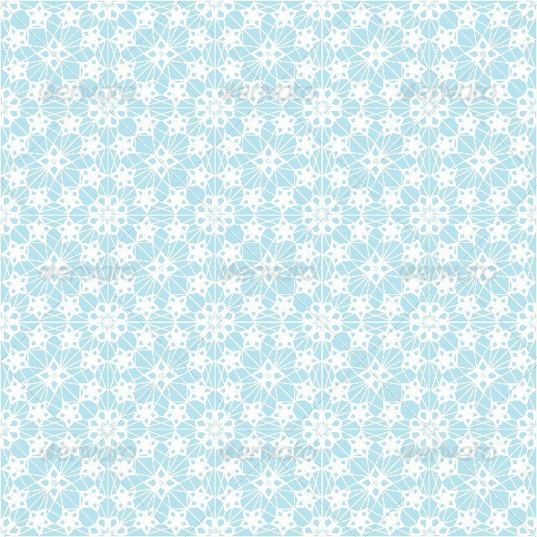 Seamless Pattern With White Lace