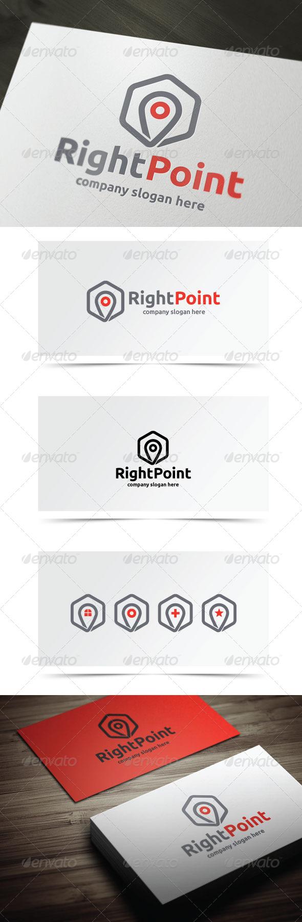 Right Point - Symbols Logo Templates