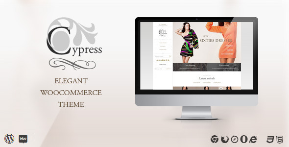 Cypress – woocommerce theme